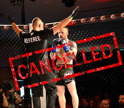 MMAsters League vol. 2 kvůli panedemii zrušena