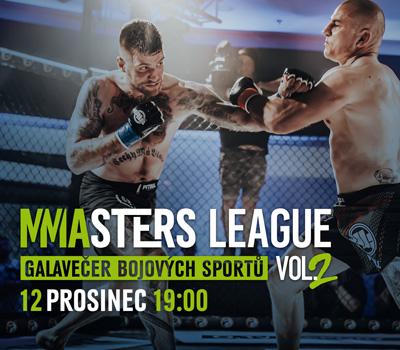 MMASTERS LEAGUE ZPĚT V AKCI 12. PROSINCE!