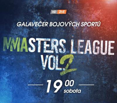 MMAsters League 2: Prvotřídní show na O2 TV Sport!