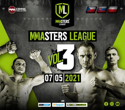 MMAsters League 3 na O2 TV Sport už v pátek 7. května!