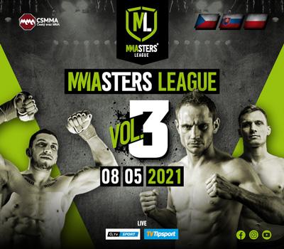 Třetí bomba od MMAsters League 8. května na O2 TV Sport!